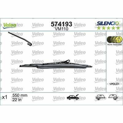 VALEO SILENCIO CONVENTIONAL SINGLE