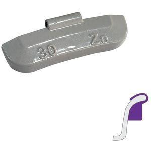 Stahlfelgengewichte 30 g