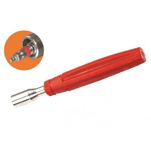 Bloķējošs ventiļa serdes izņemšanas instruments