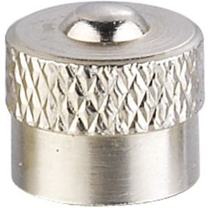 Metal valve caps