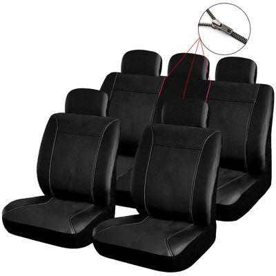 Schwarze Sitzbezüge Buffalo