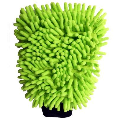 Microfibre wash glove