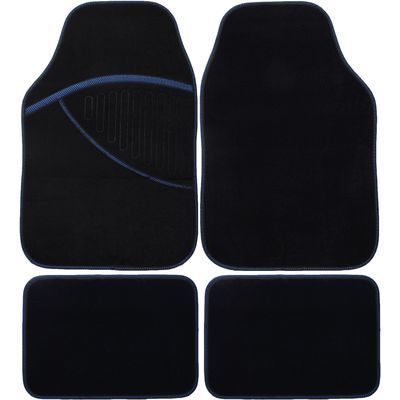 Tapetes de alcatifa Elite azul