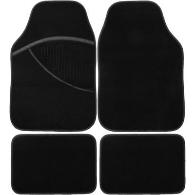 White Elite fabric mats
