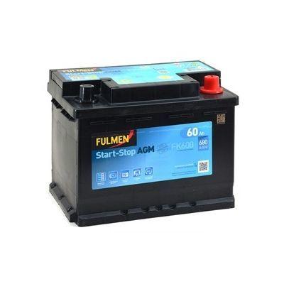 Start-Stop AGM FK600 60Ah - 680A