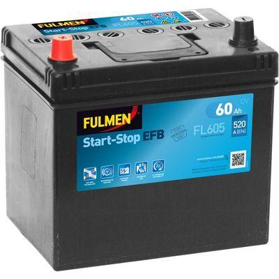 Fulmen Start-Stop EFB FL605 60 Ah - 520 A
