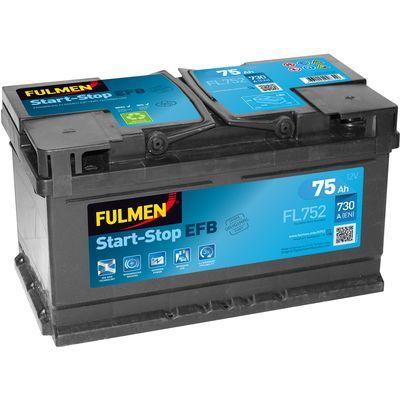 Start-Stop EFB FL752 75Ah - 730A