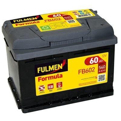 FORMULA FB602 60Ah - 540A