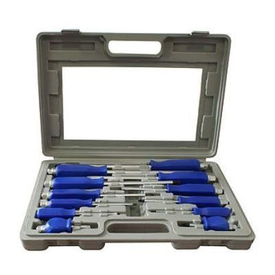 12-PIECE CHROME VANADIUM SCREWDRIVER KIT