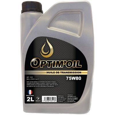 OPTIM'OIL MENJALNIKI IN OSI 75W80