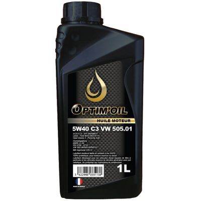 OPTIM'OIL 5W40 C3 VW 505.01