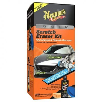 MEGUIARS Scratch Removal Kit To Remove Light Car Scratches And Swirls