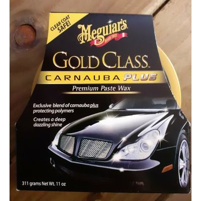 MEGUIARS G7014eu Gold Class Carnauba Plus Premium Paste Wax 311g