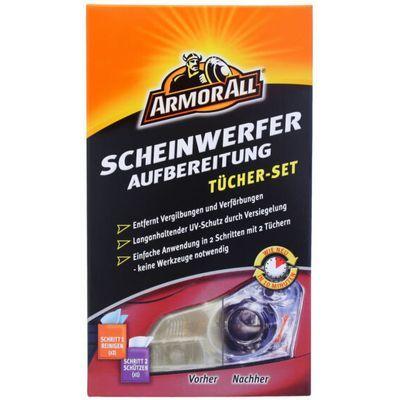 ARMOR ALL 20270L Scheinwerferaufbereitung Tücher-Set