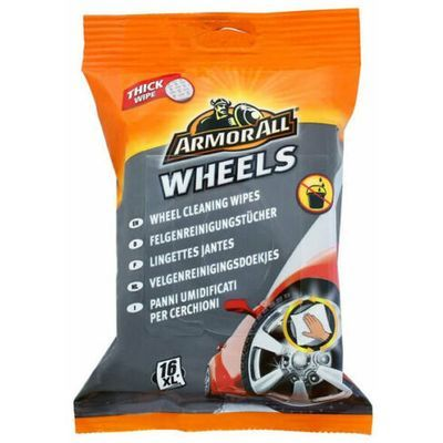 ARMOR ALL 20440 Wheel Cleaning Wipes
