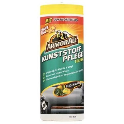 ARMOR ALL 33025L Plastic Wipes