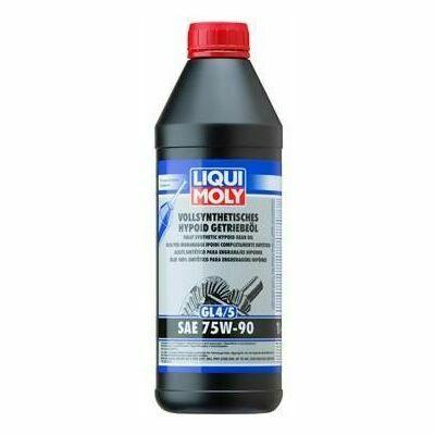 LIQUI MOLY Vollsynthetisches Hypoid Getriebeöl (gl4/5) 75w-90