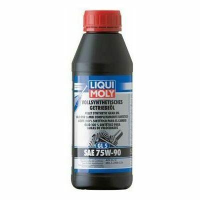 LIQUI MOLY Vollsynthetisches Getriebeöl (gl5) Sae 75w-90