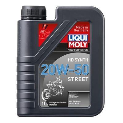 LIQUI MOLY Motorbike HD Synth 20W-50 Street