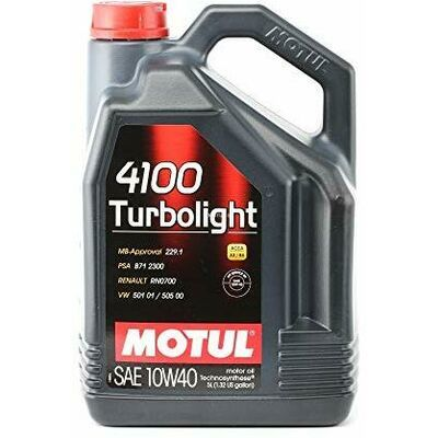 MOTUL 4100 Turbolight 10w40