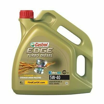 CASTROL Edge Turbo Diesel 5w-40
