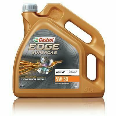 CASTROL EDGE Supercar 5W-50