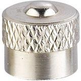 Zátky kovových ventilov