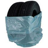 Πλαστική σακούλα για ελαστικά.