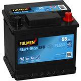 Start-Stop EFB FL600 55 Ah - 480 A
