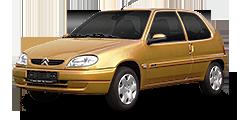 Citroën Saxo (S*...,S0...,S1..../Facelift) 1996 - 2004 1.1 X, SX