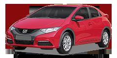 Civic Hatchback (FK1,2,3) 2012 - 2015