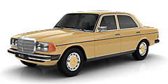 Mercedes W123 (123D) 1976 - 1985 300 CDI