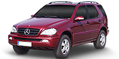 Mercedes Classe M (163/Facelift) 2001 - 2005 ML 400 CDI