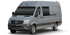 Mercedes Sprinter (Typ 906 BB) (W906/Facelift) 2013 - Sprinter 1.8 (Typ 906BB35G lang)