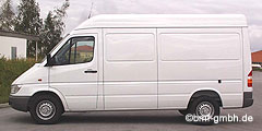 Mercedes Sprinter (W901-905) 1989 - 2006 311 CDI 4MATIC