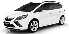 Opel Zafira Tourer (P-J/SW) 2011 - 2016 1.4 Turbo