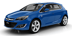 Astra (P-J/SW/Facelift) 2012 - 2015