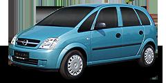 Meriva (X01MONOCAB) 2003 - 2006