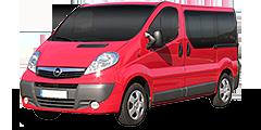 Opel Vivaro (X83/Facelift) 2006 - 2011 2.0 CDTi L1 H1 Combi/Kasten