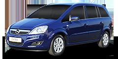 Opel Zafira (A-H/Monocab/Facelift) 2008 - 2014 -B 1.6