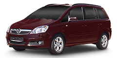 Opel Zafira (A-H/Monocab) 2005 - 2008 -B 1.9 CDTi (110 kw)
