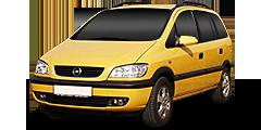 Opel Zafira (T98MONOCAB) 1999 - 2003 1.6 16V