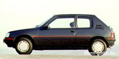 205 (20A, -C, -D) 1987 - 1998