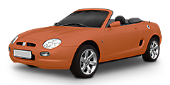 Rover MGF (RD) 1995 - 2005 MG F 1.8