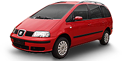 Seat Alhambra (7MS/Facelift) 2000 - 2010 1.8