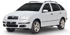 Fabia Station Wagon (6Y/Facelift) 2000 - 2007