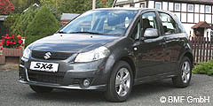 SX4 (EY/GY/Facelift) 2009 - 2013