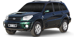 RAV4 (A2/Facelift) 2003 - 2006