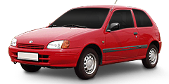 Starlet (P9) 1996 - 1999