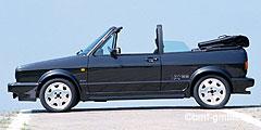 Golf Cabriolé (155) 1979 - 1993